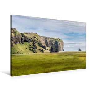 Premium Textil-Leinwand 75 cm x 50 cm quer Islands Süden