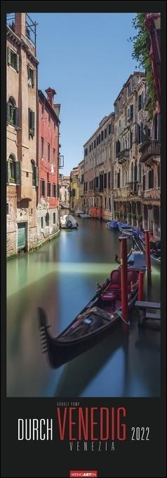 Durch Venedig Kalender 2022