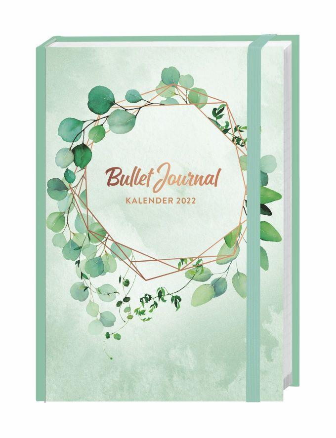 Blätter Bullet Journal A5 Kalender 2022