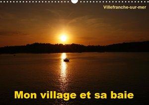 Mon village et sa baie (Calendrier mural 2021 DIN A3 horizontal)