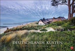 Deutschlands Küsten - Ein literarischer Spaziergang Kalender 202