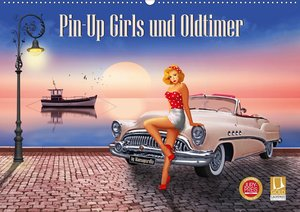 Pin-Up Girls und Oldtimer by Mausopardia (Wandkalender 2021 DIN
