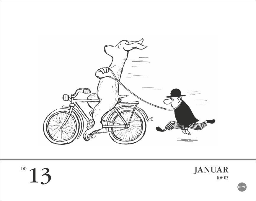 Loriot Tagesabreißkalender 2022