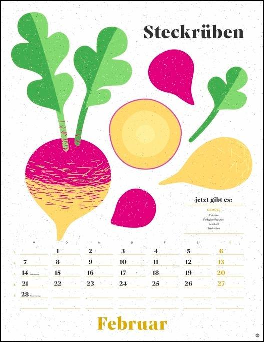 Ecofriendly Saisonkalender 2022