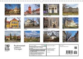 Residenzstadt Gotha in Thüringen (Wandkalender 2021 DIN A3 quer)