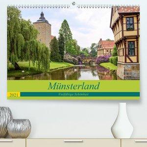 Münsterland - Vielfältige Schönheit (Premium, hochwertiger DIN A