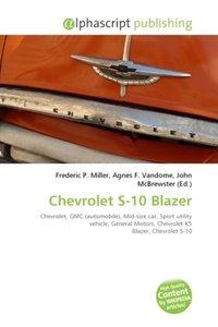 Chevrolet S-10 Blazer