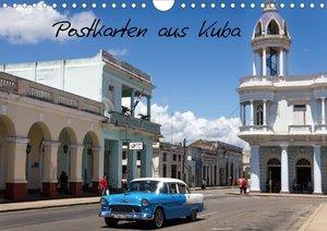 Postkarten aus Kuba (Wandkalender 2021 DIN A4 quer)