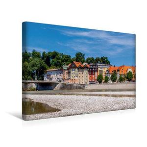 Premium Textil-Leinwand 45 cm x 30 cm quer Altstadt