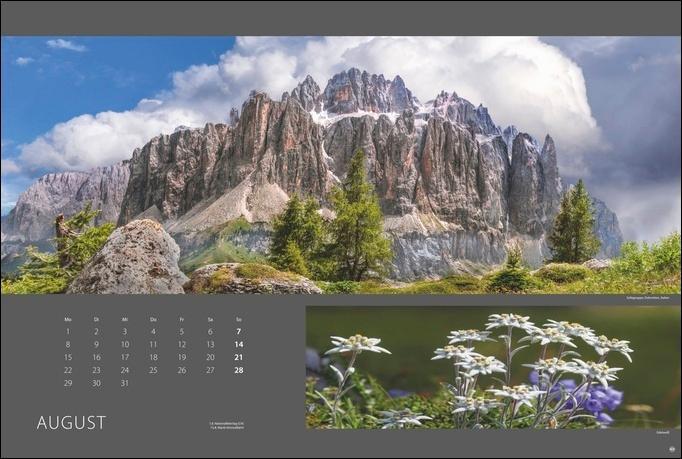 Alpen nah und fern Edition Kalender 2022