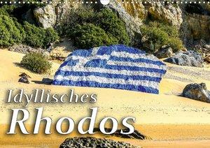 Idyllisches Rhodos (Wandkalender 2021 DIN A3 quer)