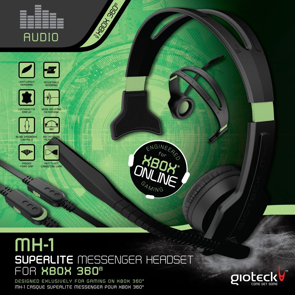 MH-1 SuperLite Messenger Headset (Wired)