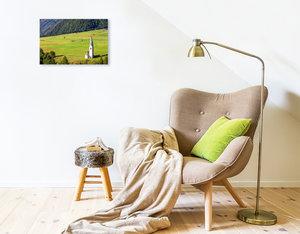 Premium Textil-Leinwand 45 cm x 30 cm quer Ein Motiv aus dem Kalender Kals am Gro?glockner
