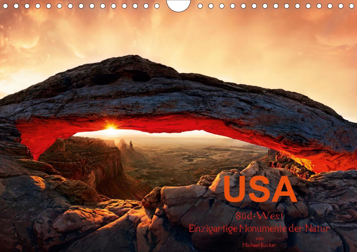 USA Süd-West (Wandkalender 2021 DIN A4 quer)