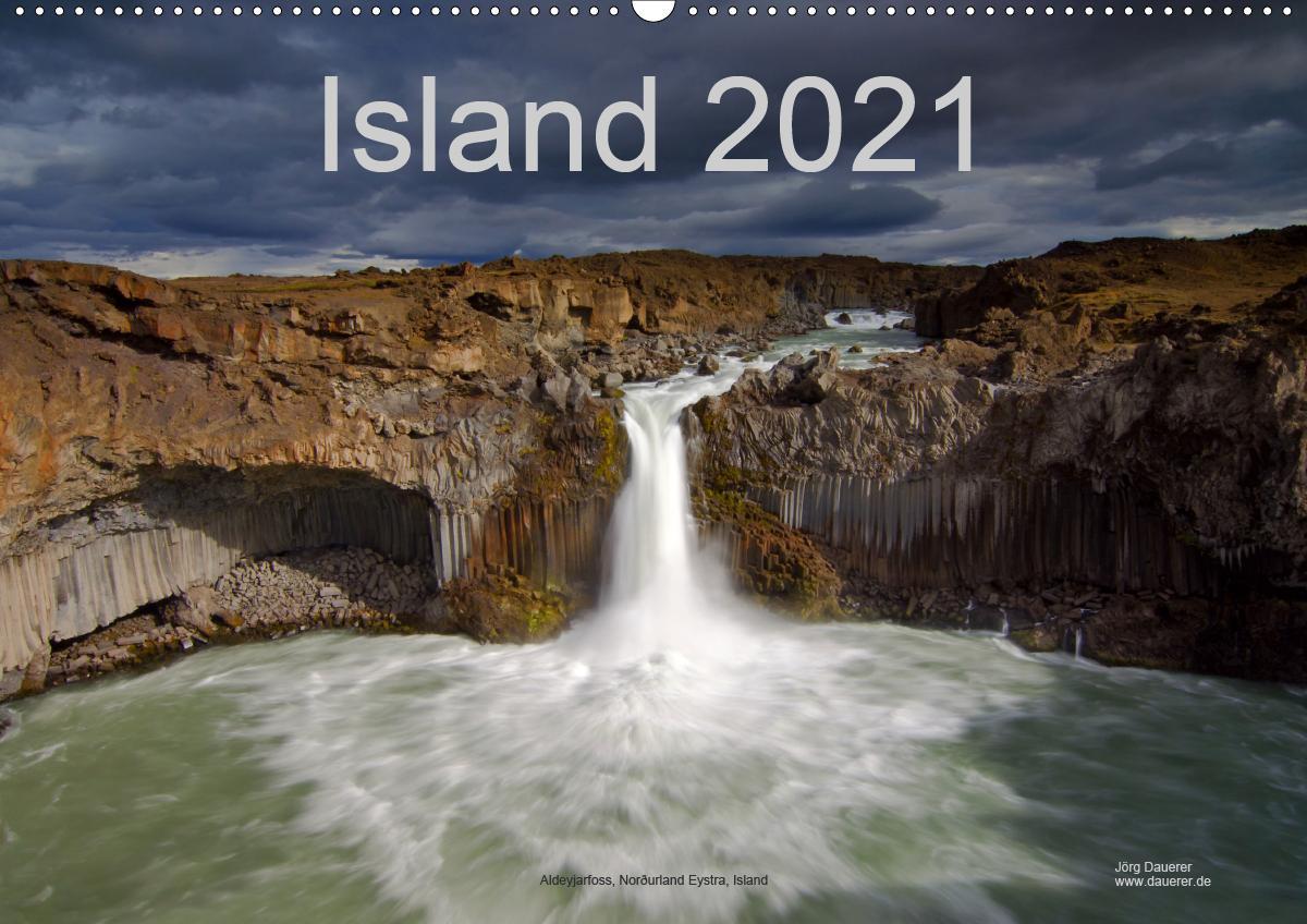Island (Wandkalender 2021 DIN A2 quer)