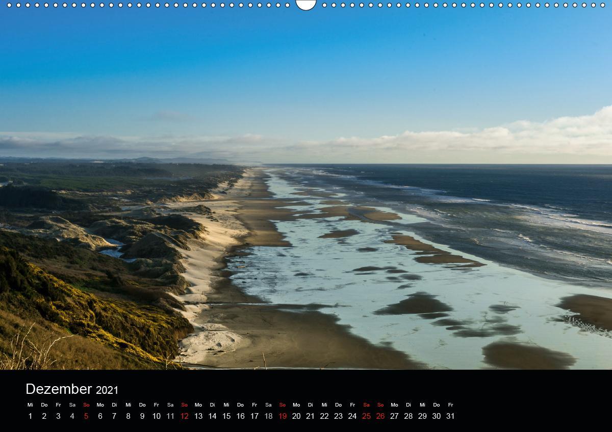 Die Oregon-Küste (Wandkalender 2021 DIN A2 quer)