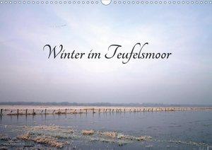 Winter im Teufelsmoor (Wandkalender 2021 DIN A3 quer)