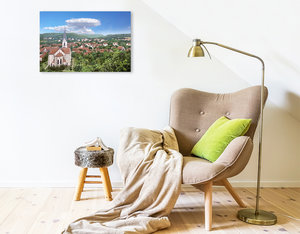 Premium Textil-Leinwand 75 cm x 50 cm quer Suderode (Harz) ? Pan