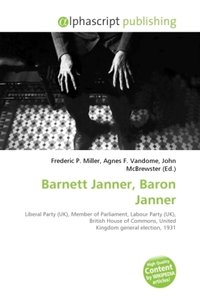 Barnett Janner, Baron Janner