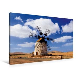 Premium Textil-Leinwand 90 cm x 60 cm quer Antigua - Molina