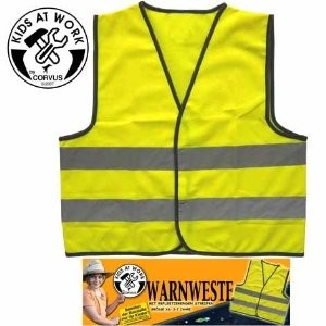 Corvus A600003 - Warnweste, Gr. XS