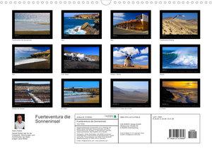 Fuerteventura die Sonneninsel (Wandkalender 2022 DIN A3 quer)