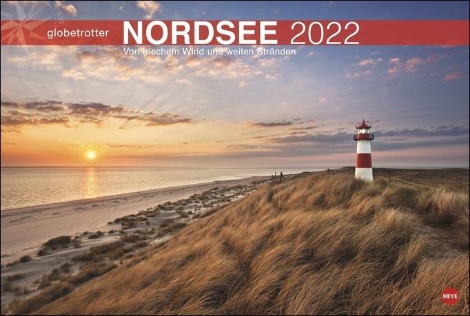 Nordsee Globetrotter Kalender 2022