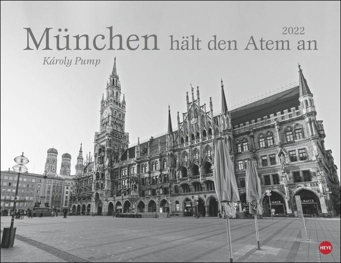 München hält den Atem an Posterkalender 2022