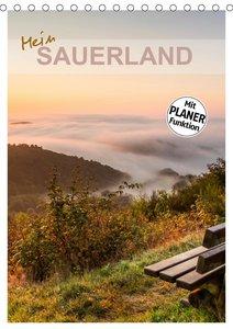 Mein Sauerland-Terminplaner (Tischkalender 2021 DIN A5 hoch)