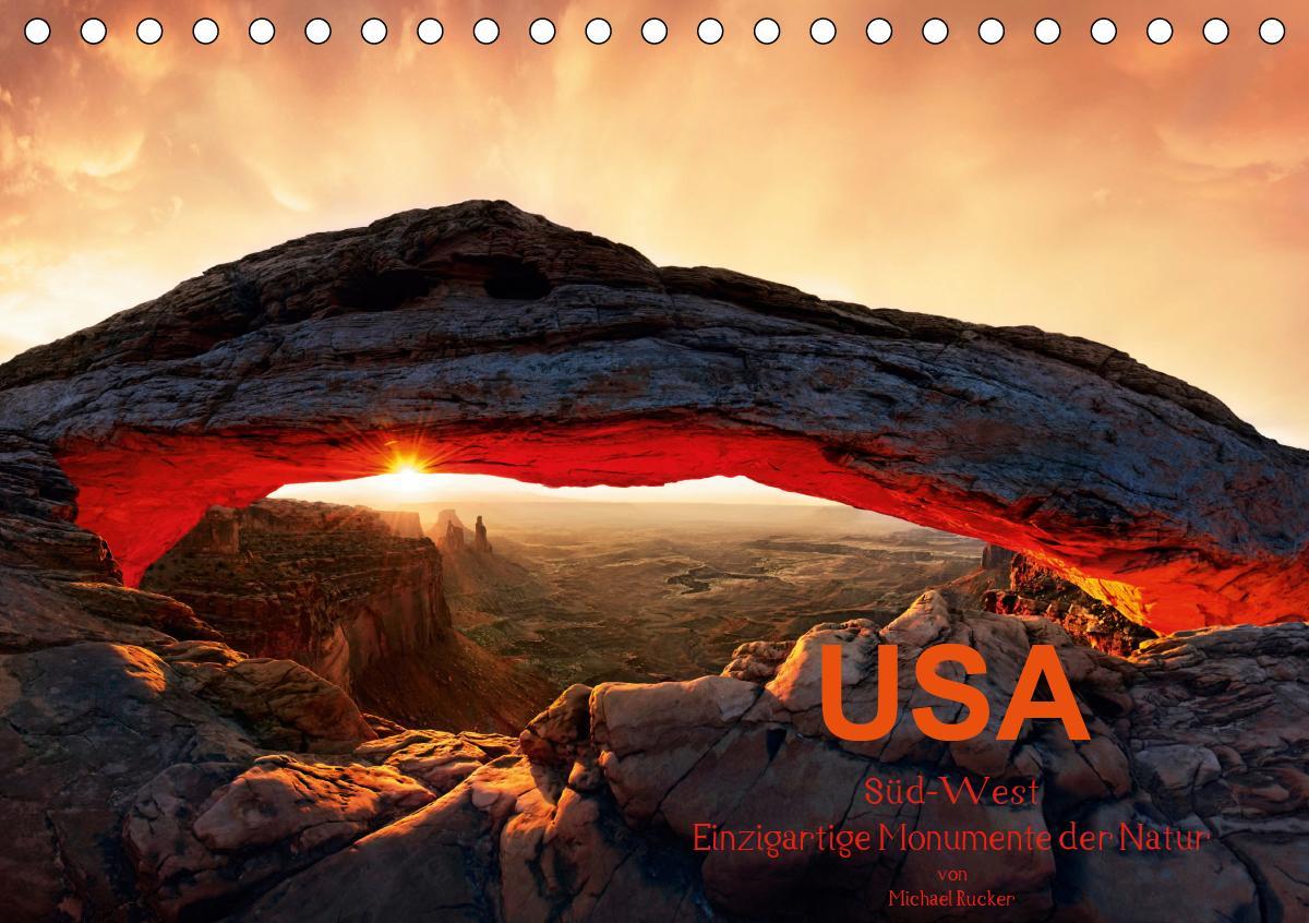 USA Süd-West (Tischkalender 2021 DIN A5 quer)