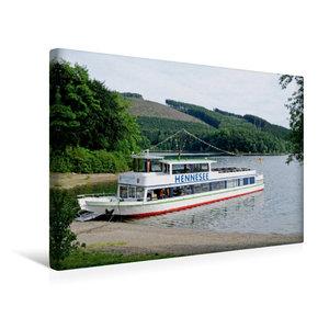 Premium Textil-Leinwand 45 cm x 30 cm quer Hennesee