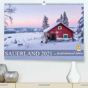 Sauerland - faszinierend schön (Premium, hochwertiger DIN A2 Wan