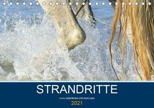 STRANDRITTE (Tischkalender 2021 DIN A5 quer)