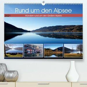 Rund um den Alpsee (Premium, hochwertiger DIN A2 Wandkalender 20