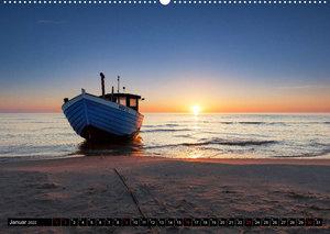 Ostseeküste - im Wechselspiel der Farben (Wandkalender 2022 DIN A2 quer)