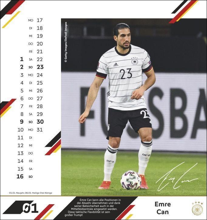 DFB Postkartenkalender 2022