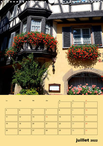 Souvenirs de Colmar (Calendrier mural 2022 DIN A3 vertical)