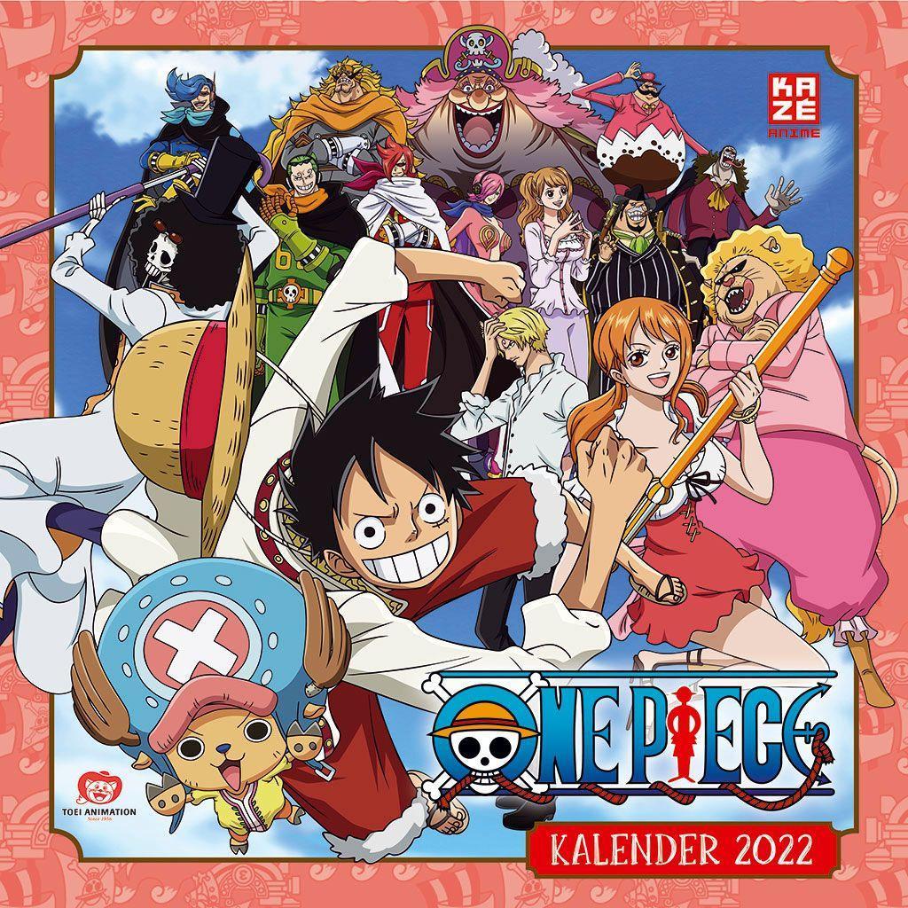 One Piece - Wandkalender 2022
