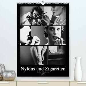 Nylons und Zigaretten (Premium, hochwertiger DIN A2 Wandkalender