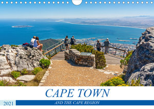 Cape Town and the Cape Region (Wall Calendar 2021 DIN A4 Landsca
