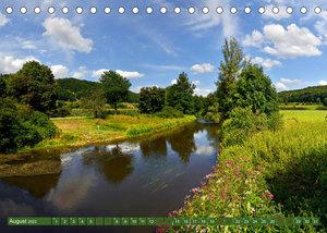 Landschaften im Altmühltal (Tischkalender 2022 DIN A5 quer)