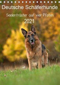 Deutsche Schäferhunde - Seelentröster auf vier Pfoten (Tischkale