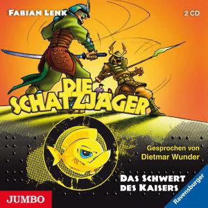 Die Schatzjäger - Das Schwert des Kaisers, 2 Audio-CDs