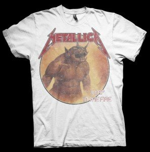 Jump In The Fire White (T-Shirt Größe XL)