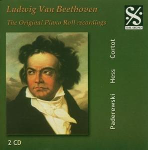 Cortot/Hess/Landoswska/Hofmann: Beethoven Piano Roll Recordi