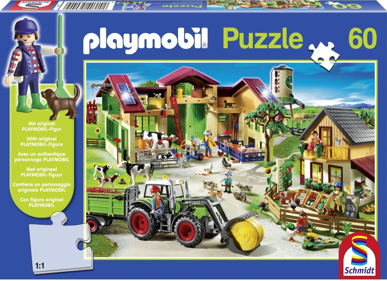 Schmidt Spiele 56042 - Playmobil: Im Dinoland mit Original Figur
