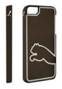 PUMA Monoline Case, Schutzhülle für iPhone 5/5s, schwarz