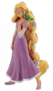BULLYLAND 12424 - Rapunzel mit Blumen, 10 cm