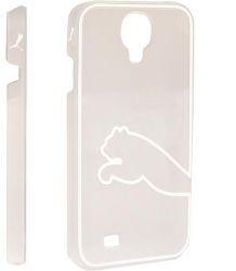PUMA Monoline Case, Schutzhülle für Handy Samsung Galaxy S4, tra