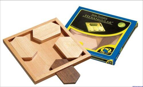Philos 6185 - Jam Puzzle Hexangular